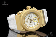 Invicta Women's Russian Diver Akula Chronograph Leather Strap Watch - 16116