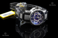 Invicta S1 Rally Swiss Made Carbon Fiber Dial Chronograph Strap Watch - 0894