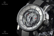 Invicta S1 Rally Swiss Made Carbon Fiber Dial Chronograph Strap Watch - 0895