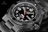 Reactor 40mm Trident Titanium Black DLC Bracelet Watch - 58501
