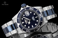 Invicta 40mm Midnight Blue Dial Pro Diver Automatic Stainless Steel Bracelet Watch - 19272