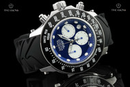 Invicta Men's 52mm Reserve Collection Swiss Made Chronograph Silicone Strap Watch - 22137