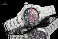 Invicta 47mm Sea Base Edition Pro Diver Black Mother-of-Pearl Automatic Sapphire Crystal Bracelet Watch - 17957