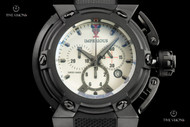 Imperious Men's X-Wing Full Lume Dial Swiss Made Quartz Chronograph Strap Watch - IMP1038