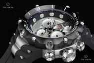 Invicta Jason Taylor Reserve Venom Gen II Swiss Made Quartz Chronograph Strap Watch & 1 Slot Dive Case - 14419