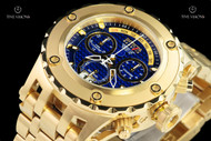 Invicta Men's 52mm Reserve Specialty Subaqua Blue Carbon Fiber Dial Swiss Quartz Chronograph Bracelet Watch - 14469