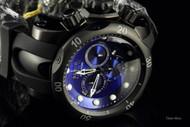 Invicta Reserve Men's Venom Swiss Quartz Blue Dial Chronograph Strap Watch - F0003