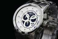 Invicta Reserve Specialty Swiss Quartz Chronograph Stainless Steel Bracelet Watch - 14207