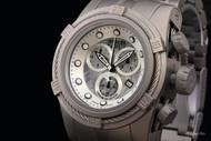 Invicta Reserve Men's Bolt Zeus Titanium Meteorite Swiss COSC Quartz Chronograph Bracelet Watch - 12727