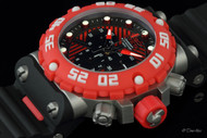 Invicta Subaqua Nitro Chronograph SS Case Poly Strap Watch - 10037