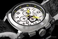 Invicta Men's Aviator Polar Edition Chronograph Stainless Steel Bracelet Watch - 12314