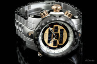 Invicta 'Intrinsic' Ana/Digi Reserve Venom Stainless Steel Bracelet Watch - 12585