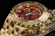 Invicta Men's Reserve Specialty Subaqua Swiss Quartz Chronograph Gold-Tone Bracelet Watch - 80490
