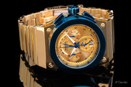 Invicta Reserve Akula Swiss Made Quartz Chronograph Mirror Polished Bracelet Watch - 14520