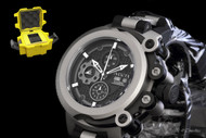 Invicta Coalition Forces Trigger Titanium Swiss Automatic SW500 Chronograph Strap Watch & 1-Slot Dive Case - 0959