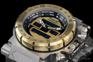Invicta Men's Coalition Forces Intrinsic Swiss Ana/Digi Stainless Steel Bracelet Watch - 13074