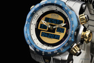 Invicta 'Intrinsic' Ana/Digi Reserve Venom Stainless Steel Bracelet Watch - 12586