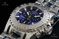 Imperious Men's Chaos Swiss Made Quartz Chronograph Stainless Steel Bracelet Watch - IMP1059