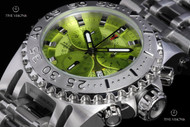 Imperious Men's Chaos Swiss Made Quartz Chronograph Stainless Steel Bracelet Watch - IMP1055