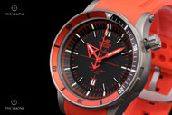 Vostok-Europe Anchar Watch with Titanium Case & Tritium Illumination, 2 Extra Straps and Dry Box - NH35A-5107171