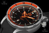 Vostok-Europe Anchar Watch with Titanium Case & Tritium Illumination, 2 Extra Straps and Dry Box - NH35A-5107173