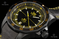 Vostok-Europe N1 Rocket with 2-tone Tritium Illumination and Leather Strap Watch - NH35A-2254151