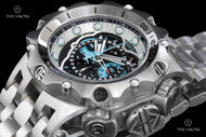 "Invicta Men's Reserve Venom ""Hybrid"" Swiss Quartz 5040.F Chronograph Bracelet Watch - 16802"