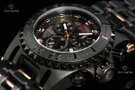 Imperious Men's Chaos Swiss Made Quartz Chronograph Stainless Steel Bracelet Watch - IMP1066