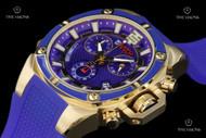 TechnoSport Stainless Steel Case Quartz Chronograph Silicone Strap Watch - TS-100-S14