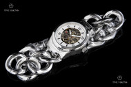 Invicta Women's Angel Mechanical Stainless Steel Braided Bracelet Watch - 17250