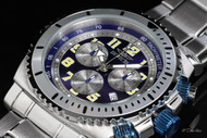 Invicta Specialty Men's Sport Quartz Chronograph Tachymeter Stainless Steel Bracelet Watch - 0617