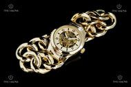 Invicta Women's Angel Mechanical Stainless Steel Braided Bracelet Watch - 17251