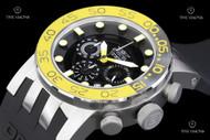 Invicta Men's DNA Stainless Steel Case Silicone Strap Watch - 12414