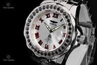 Invicta Men's Grand Diver Swiss Automatic 5.22ctw Black Spinel Bracelet Watch - 14108