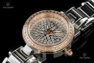 Invicta Women's Angel Quartz Diamond Pave Dial Stainless Steel Bracelet Watch - 15874
