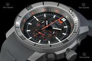 Vostok-Europe Caspian Sea Monster Quartz Chronograph Strap Watch with Tritium Illumination - OS2B-5464136