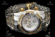 Invicta Women's Bolt Zeus White Mother-of-Pearl Dial Stainless Steel Bracelet Watch - 16108