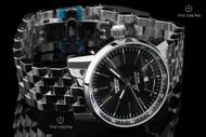 Vostok-Europe Gaz Limo Stainless Steel Bracelet Automatic Watch w/ Tritium Illumination - 8215-5651137B