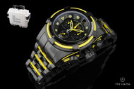 Invicta Reserve Men's Jason Taylor Bolt Zeus Limited Edition Swiss Made Watch w/ 3-Slot Dive Case - 14423