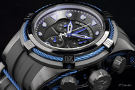 Invicta Men's Reserve Bolt Zeus Swiss Made Quartz Chronograph Polyurethane Strap Watch - 12301