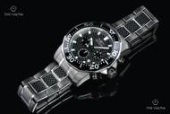 Invicta Pro Diver 45mm Carbon Diver Quartz Chronograph Bracelet Watch - 17257