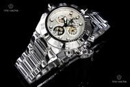Invicta Men's Subaqua Noma IV Swiss Quartz Chronograph Mirror Polish Bracelet Watch - 11874
