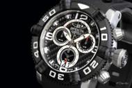 Invicta Men's Sea Hunter II Swiss Quartz Chronograph Polyurethane Strap Watch - 12256