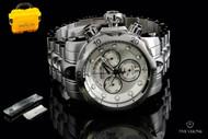 Invicta Men's Reserve Venom Bracelet Watch w/ Polyurethane Strap & 3-Slot Dive Case - 1537