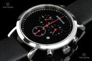 Bering Time Men's Sapphire Crystal Chronograph Calf Leather Strap Quartz Watch - 10540-402