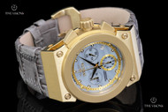Invicta Women's Russian Diver Akula Chronograph Leather Strap Watch - 16117