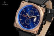Invicta Men's Corduba Square Quartz Chronograph Nylon Strap Watch - 16165