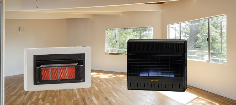 Reconditioned Space Heaters