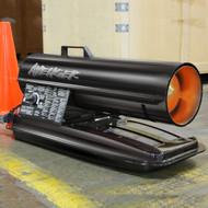 Avenger Kerosene Diesel Forced Air Heater, #FBD75T