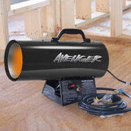 Avenger Portable Forced Air Propane Heater, #FBDFA40